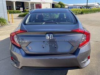 2016 Honda Civic 10th Gen MY16 VTi-S Grey/220616 1 Speed Constant Variable Sedan