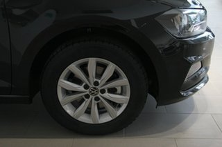 2021 Volkswagen Polo AW MY21 85TSI DSG Comfortline Black 7 Speed Sports Automatic Dual Clutch.