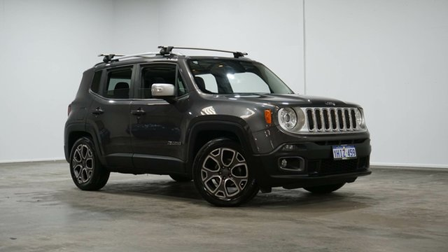 Used Jeep Renegade BU MY17 Limited DDCT Welshpool, 2017 Jeep Renegade BU MY17 Limited DDCT Granite Crystal 6 Speed Sports Automatic Dual Clutch