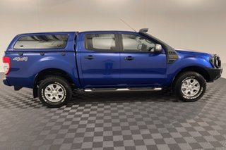 2015 Ford Ranger PX MkII XLS Double Cab Aurora Blue 6 speed Automatic Utility