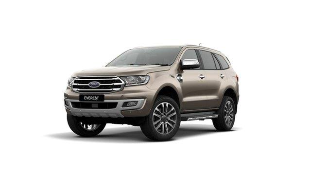 Used Ford Everest UA II 2020.25MY Titanium Midland, 2020 Ford Everest UA II 2020.25MY Titanium Silver 10 Speed Sports Automatic SUV