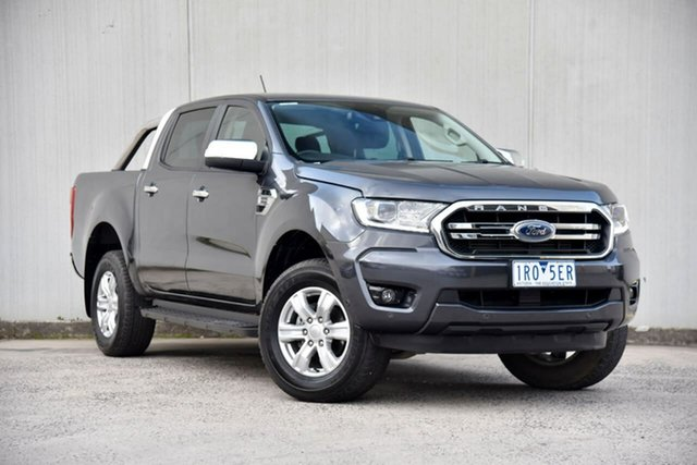 Used Ford Ranger PX MkIII 2020.75MY XLT Oakleigh, 2020 Ford Ranger PX MkIII 2020.75MY XLT Grey 10 Speed Sports Automatic Double Cab Pick Up