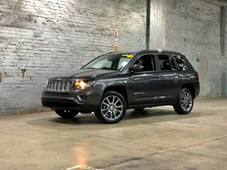 2015 Jeep Compass MK MY15 Limited Grey 6 Speed Sports Automatic Wagon.