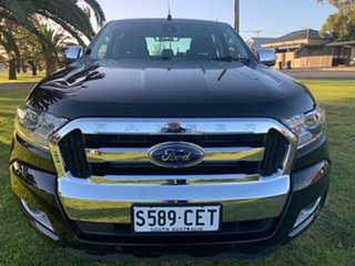 2017 Ford Ranger PX MkII XLT Double Cab Black/Grey 6 Speed Manual Utility