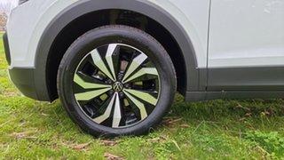 2021 Volkswagen T-Cross C1 MY21 85TSI DSG FWD CityLife Pure White 7 Speed