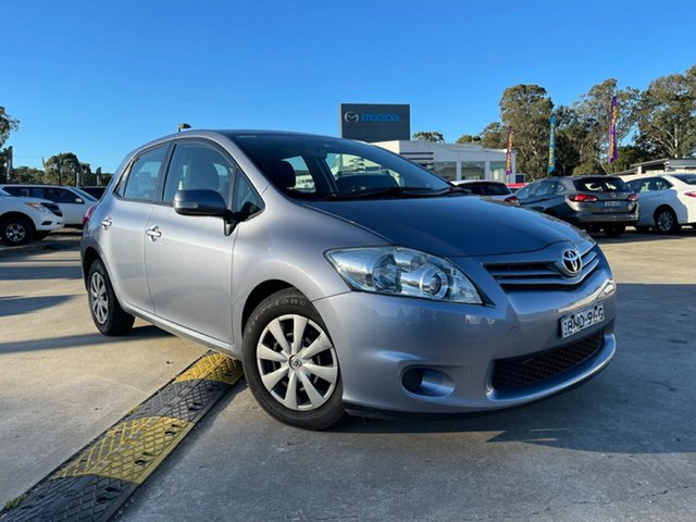 Used Toyota Corolla ZRE152R MY10 Conquest Glendale, 2010 Toyota Corolla ZRE152R MY10 Conquest Blue 4 Speed Automatic Hatchback