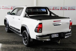 2017 Toyota Hilux GUN126R SR5 Double Cab Glacier White 6 Speed Sports Automatic Utility.