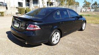 2011 Ford Falcon FG Upgrade XR6 Black 6 Speed Auto Seq Sportshift Sedan.
