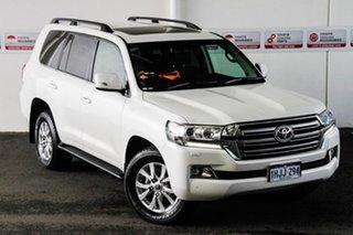 2021 Toyota Landcruiser VDJ200R VX Crystal Pearl 6 Speed Sports Automatic Wagon.