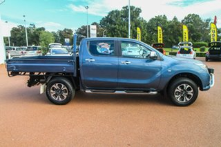 2017 Mazda BT-50 UR0YG1 XT Freestyle Blue 6 Speed Sports Automatic Cab Chassis.