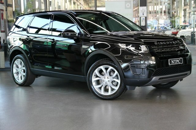 Used Land Rover Discovery Sport L550 19MY SE North Melbourne, 2019 Land Rover Discovery Sport L550 19MY SE Black 9 Speed Sports Automatic Wagon