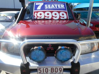 2002 Mitsubishi Pajero NM MY2002 GLS Red 5 Speed Sports Automatic Wagon.