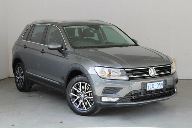 Used Volkswagen Tiguan 5N MY17 132TSI DSG 4MOTION Comfortline Phillip, 2016 Volkswagen Tiguan 5N MY17 132TSI DSG 4MOTION Comfortline Grey 7 Speed