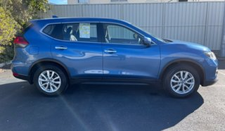 2017 Nissan X-Trail T32 ST X-tronic 4WD Marine Blue 7 Speed Constant Variable Wagon.
