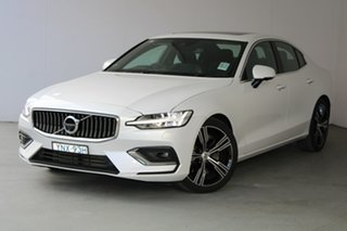 2019 Volvo S60 Z Series MY20 T5 Geartronic AWD Inscription Crystal White Pearl 8 Speed