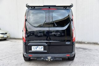 2017 Ford Transit Custom VN 290S Low Roof SWB Black 6 Speed Automatic Van.