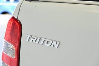2017 Mitsubishi Triton MQ MY17 GLX+ Club Cab White 5 Speed Sports Automatic Utility