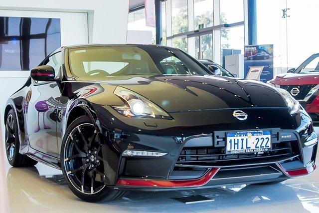Demo Nissan 370Z Z34 MY20 Nismo Osborne Park, 2021 Nissan 370Z Z34 MY20 Nismo Diamond Black 7 Speed Sports Automatic Coupe