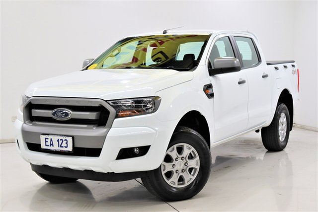 Used Ford Ranger PX MkII XLS Double Cab Brooklyn, 2017 Ford Ranger PX MkII XLS Double Cab White 6 Speed Sports Automatic Utility