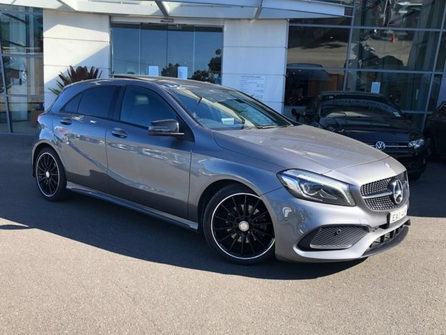 Used Mercedes-Benz A-Class W176 806MY A180 D-CT Sutherland, 2016 Mercedes-Benz A-Class W176 806MY A180 D-CT Grey 7 Speed Sports Automatic Dual Clutch Hatchback