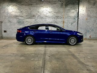 2016 Ford Mondeo MD Titanium Blue 6 Speed Sports Automatic Hatchback