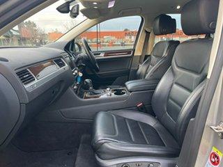 2014 Volkswagen Touareg 7P MY15 150TDI Tiptronic 4MOTION Silver 8 Speed Sports Automatic Wagon