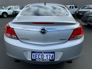 2013 Opel Insignia IN Select Silver 6 Speed Sports Automatic Sedan.