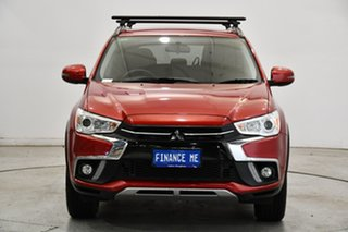 2018 Mitsubishi ASX XC MY18 LS 2WD Red 1 Speed Constant Variable Wagon.