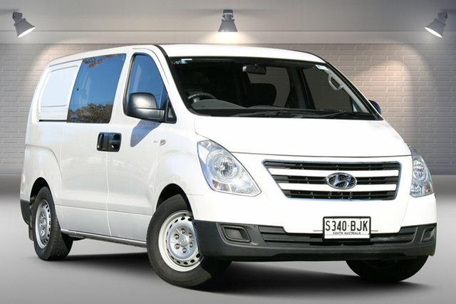 Used Hyundai iLOAD TQ3-V Series II MY16 Crew Cab Nailsworth, 2015 Hyundai iLOAD TQ3-V Series II MY16 Crew Cab White 5 Speed Automatic Van
