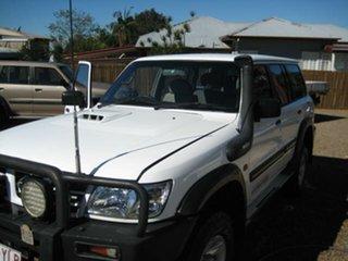 2002 Nissan Patrol White Automatic Wagon