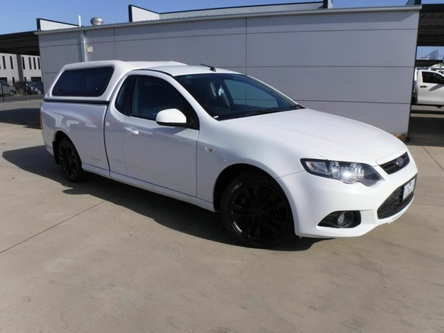 Used Ford Falcon FG MkII XR6 Super Cab EcoLPi Pakenham, 2014 Ford Falcon FG MkII XR6 Super Cab EcoLPi White 6 Speed Sports Automatic Cab Chassis