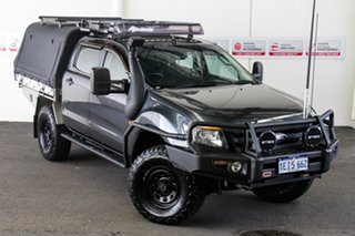 2013 Ford Ranger PX XL 3.2 (4x4) Grey 6 Speed Automatic Double Cab Pick Up.