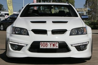 2010 Holden Special Vehicles Maloo E Series 2 GXP White 6 Speed Manual Utility
