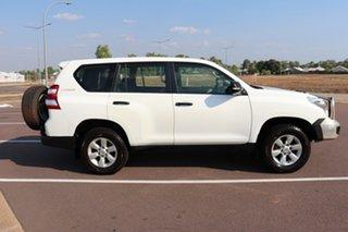 2013 Toyota Landcruiser Prado KDJ150R MY14 GX Glacier White 5 Speed Automatic Wagon.