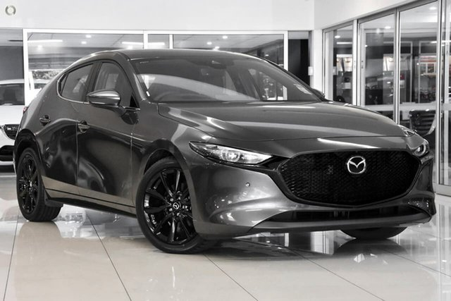 New Mazda 3 BP2HLA G25 SKYACTIV-Drive Astina Waitara, 2021 Mazda 3 BP2HLA G25 SKYACTIV-Drive Astina Grey 6 Speed Sports Automatic Hatchback
