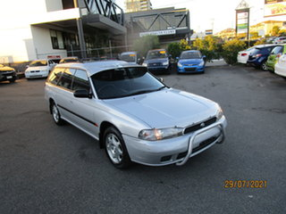 1996 Subaru Liberty GX (AWD) Silver 5 Speed Manual Wagon.