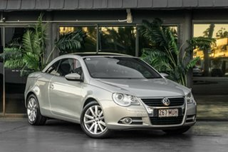 2009 Volkswagen EOS 1F MY09 147TSI DSG Silver 6 Speed Sports Automatic Dual Clutch Convertible.