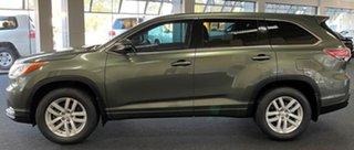 2014 Toyota Kluger GSU50R GX 2WD Green 6 Speed Sports Automatic Wagon