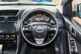 2017 Mazda BT-50 UR0YG1 XT Freestyle Blue 6 Speed Sports Automatic Cab Chassis