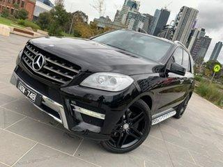 2015 Mercedes-Benz M-Class W166 MY805 ML250 BlueTEC 7G-Tronic + Black 7 Speed Sports Automatic Wagon.