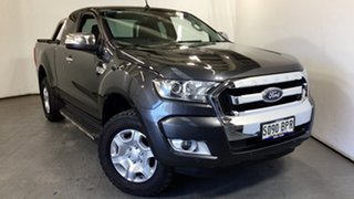 2017 Ford Ranger PX MkII XLT Super Cab Grey 6 Speed Sports Automatic Utility.