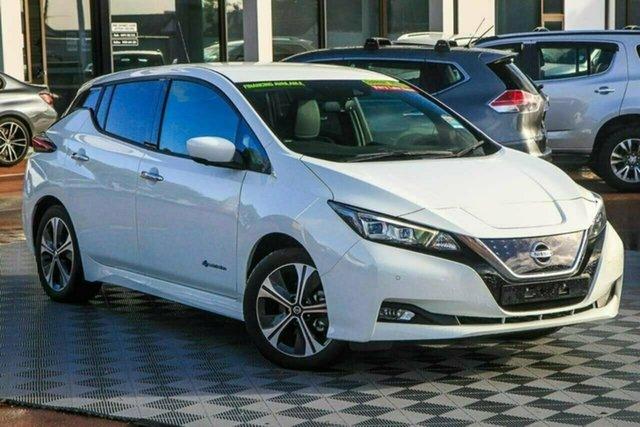 Used Nissan Leaf ZE1 Attadale, 2020 Nissan Leaf ZE1 White 1 Speed Reduction Gear Hatchback