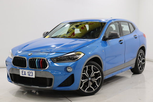 Used BMW X2 F39 xDrive20d Coupe Steptronic AWD M Sport Brooklyn, 2019 BMW X2 F39 xDrive20d Coupe Steptronic AWD M Sport Blue 8 Speed Sports Automatic Wagon