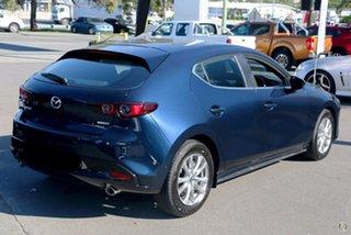 2021 Mazda 3 BP2H7A G20 SKYACTIV-Drive Pure Blue 6 Speed Sports Automatic Hatchback