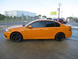 2013 Ford Falcon FG Mk II XR6 Orange 6 Speed Automatic Sedan.
