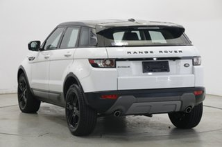 2012 Land Rover Range Rover Evoque L538 MY12 SD4 CommandShift Pure White 6 Speed Sports Automatic