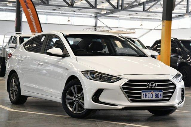 Used Hyundai Elantra AD Active 2.0 MPI Perth Airport, 2016 Hyundai Elantra AD Active 2.0 MPI White 6 Speed Automatic Sedan