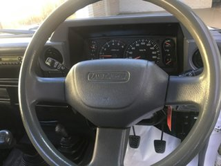 2008 Toyota Landcruiser VDJ79R Workmate White Manual