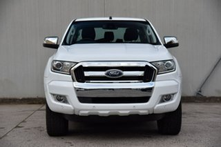 2017 Ford Ranger PX MkII XLT Double Cab White 6 Speed Manual Utility