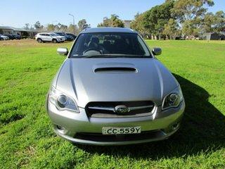 2005 Subaru Liberty MY06 GT Silver 5 Speed Manual Wagon.